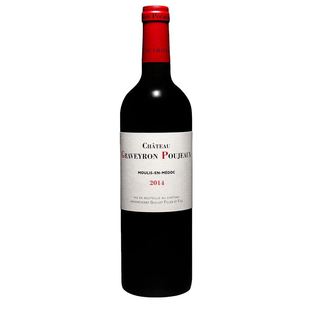 vin chateau graveyron poujeaux 2014