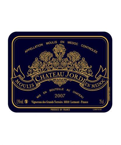 chateau jordi moulis 2007