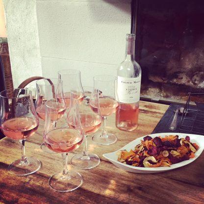 vin rose chateau moulis 2018